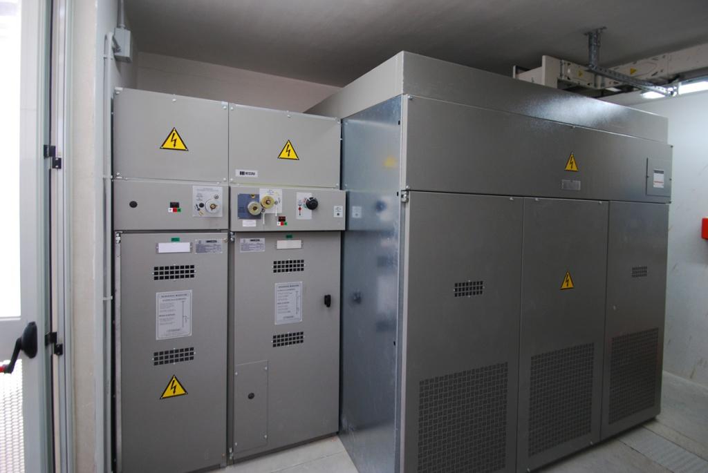 Istituto Poligrafico e Zecca dello Stato Cabina MT 1,6 MW