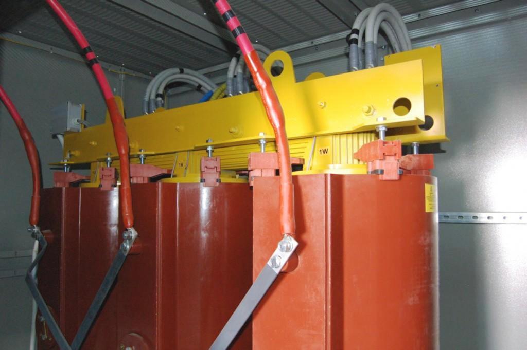 Cabina elettrica MT 1,25 MW Passalacqua Marmi