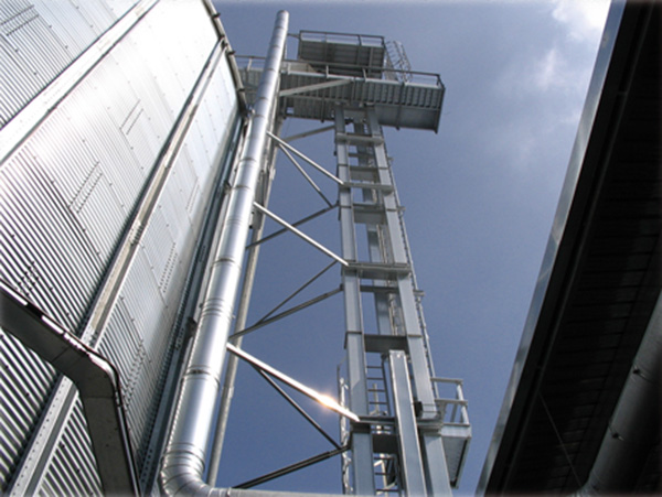 Impianto elettrico Silos Cimbria Heid Italia Srl Apricena (FG)
