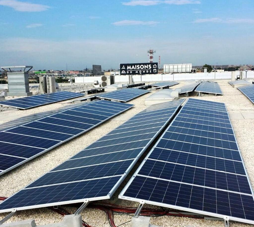 Impianto fotovoltaico 200 kWp Adria Video srl - Bari Euronics - CC Santa Caterina