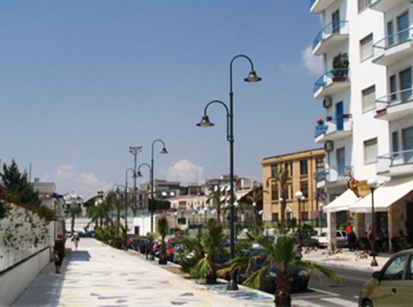 Pubblica illuminazione Lungomare Manfredonia (FG)