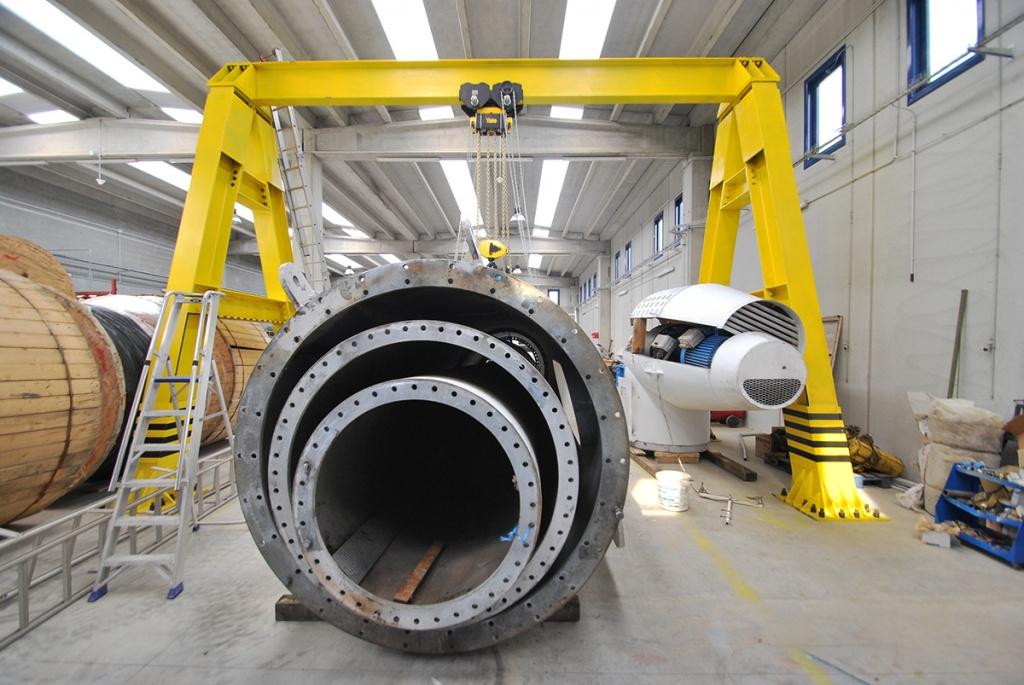 Repowering e posa turbina eolica ricondizionata Nordtank 150- 60 kW Società Elettrica Italiana