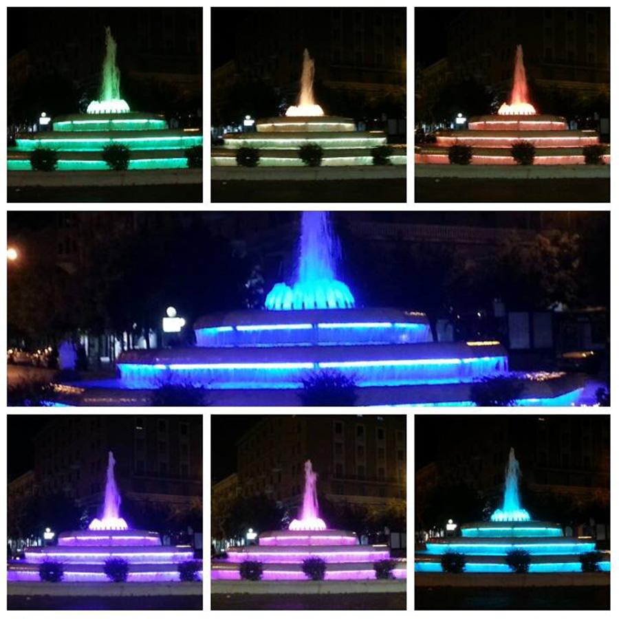 Restyling fontana stazione Piazza Vittorio Veneto - Foggia