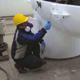 Ispezione saldature pale eoliche
