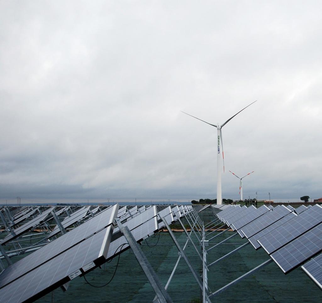 1 MW fotovoltaico Isola di San Pietro Calypso engeenering