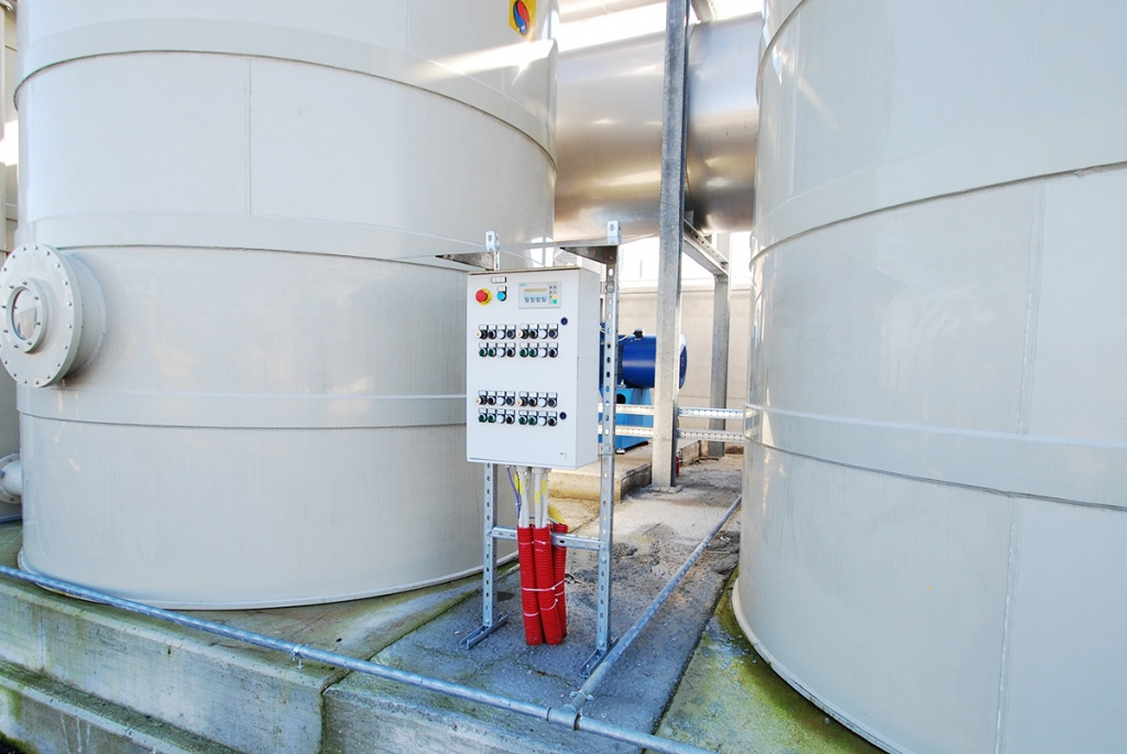 Automazione e telecontrollo impianto di sollevamento Consorzio di Bonifica Integrale - Sarno