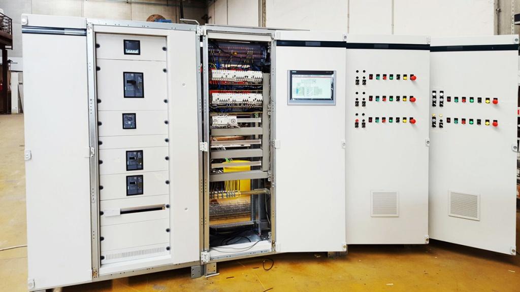 Automazione e telecontrollo impianto idrovoro Palude Lauro: Consorzio per la bonifica della Capitanata
