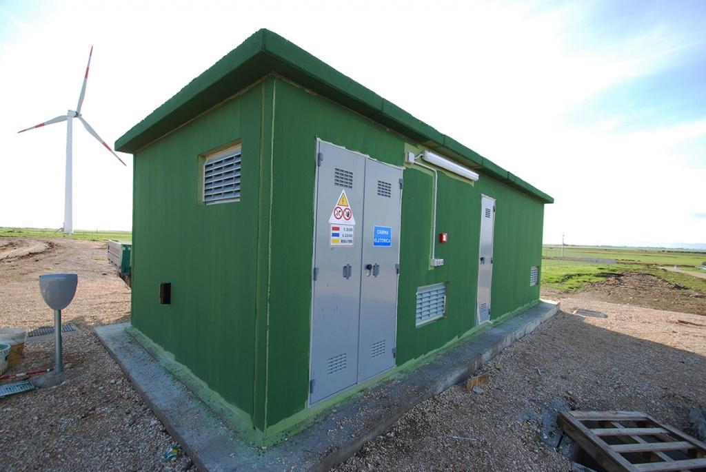 Cabina principale da 2 MW Istituto Zooprofilattico Foggia