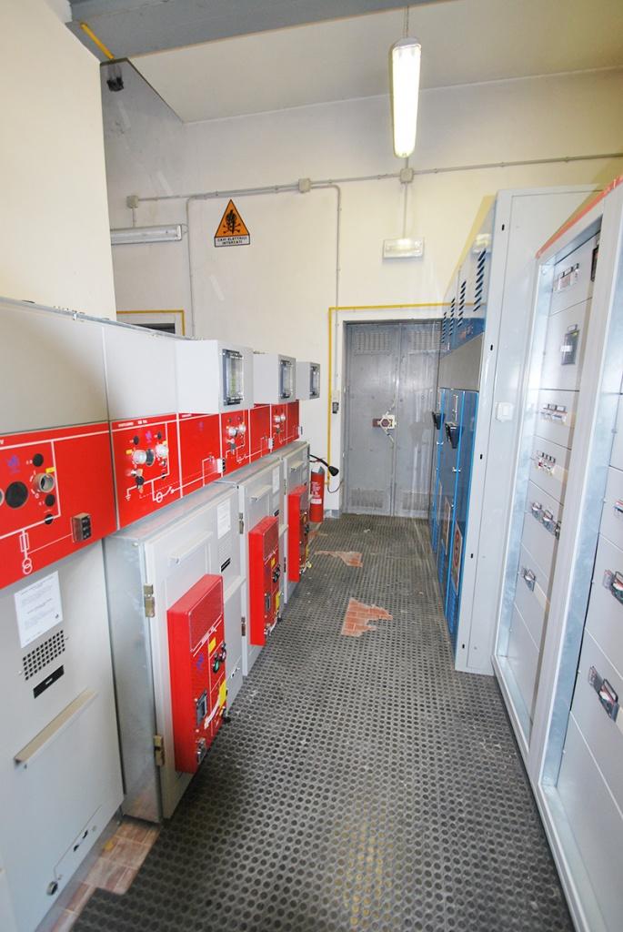 Impianto distribuzione elettrico MT n.5 celle in SF6 Ospedali Riuniti Foggia