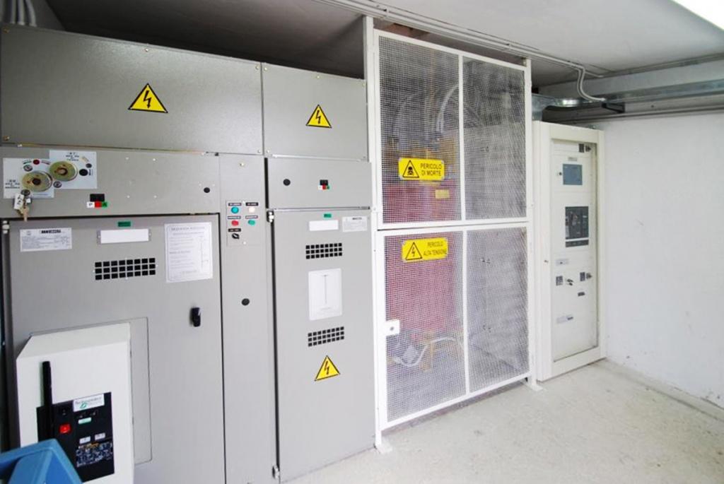 Impianto cabina pala eolica 1 MW Calypso