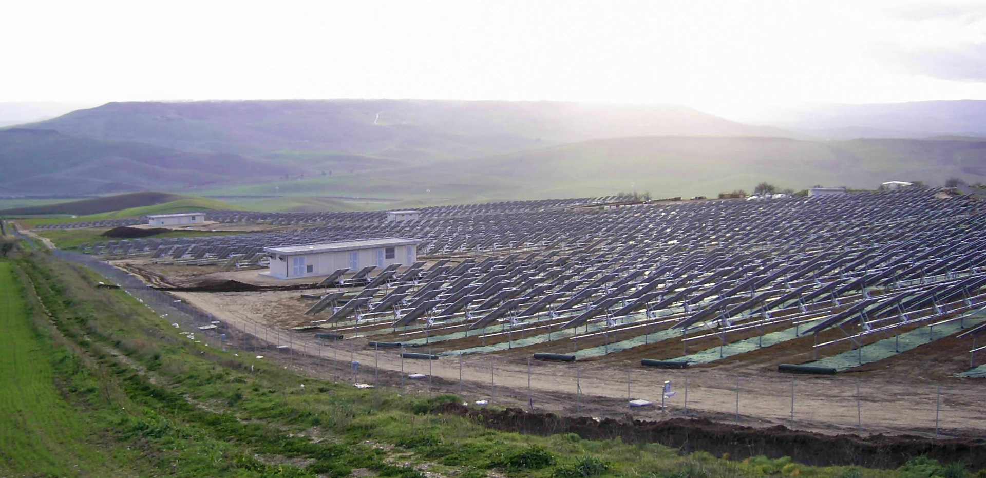 Parco eolico energia solare